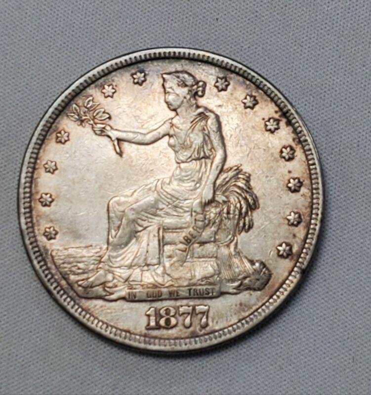 1877 Trade dollar Original