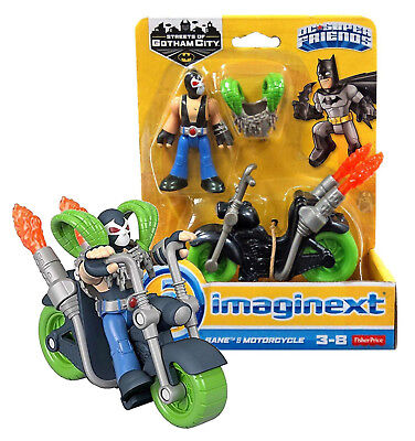 imaginext DC Super Friends Bane & Motorcycle New in Box