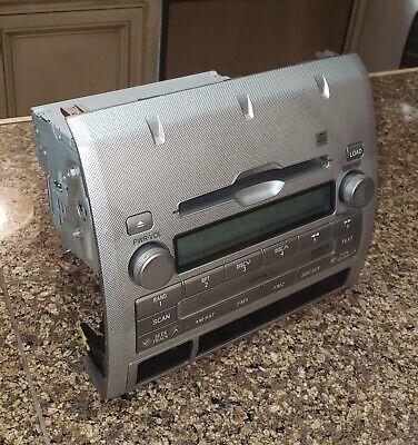 Toyota Tacoma OEM XM MP3 Radio 6 CD Changer 86120-04180 2005-2011