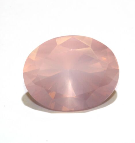 loose natural gemstone 7.64ct rose quartz 14.79 x 11.66 x 9.21mm pavillion