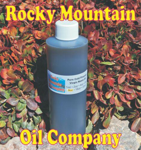 PURE ORGANIC VIRGIN NEEM OIL COLD PRESSED UNREFINED 2 8 16 32 oz to Gallon HAIR
