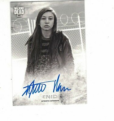 2018 Topps Walking Dead Hunters and the Hunted AUTOGRAPH ENID KATELYN NACON