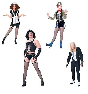 Adult Mens Womens Rocky Horror Show Costumes Fancy Dress Halloween Outfits