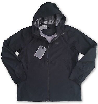 Abercrombie and Fitch Waterproof Rain Jacket Black - Small RRP £120