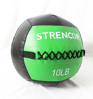 """Strencor Fitness 10 LB MEDICINE WALL BALL Crossfit 14"""" Diameter for sale  Shipping to Canada"""