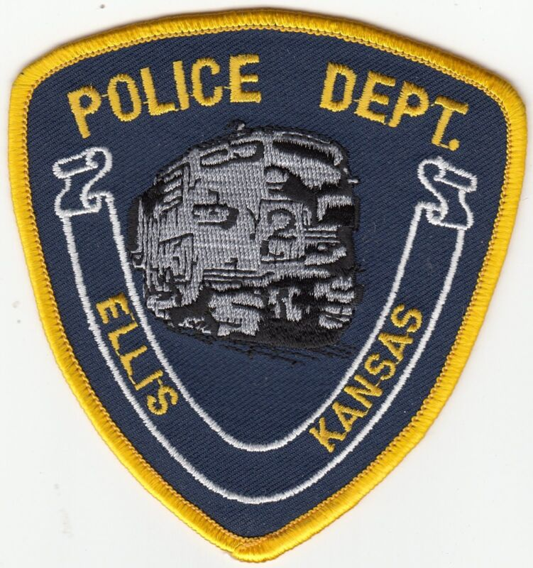ELLIS KANSAS POLICE DEPARTMENT (TRAIN) KS POLICE PATCH