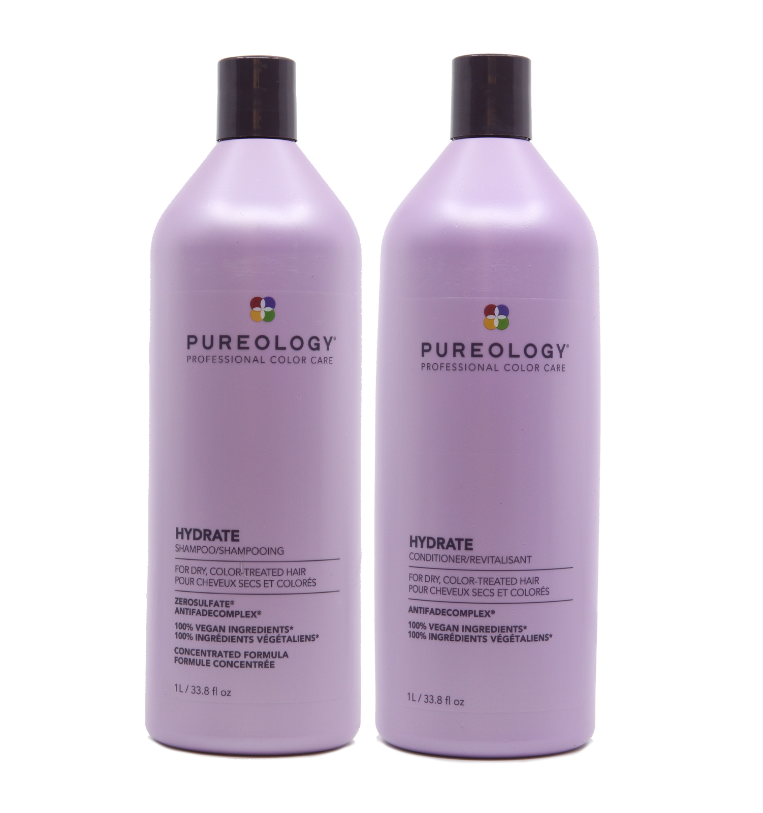 pureology hydrate shampoo and conditioner Duo 33.8oz - New p