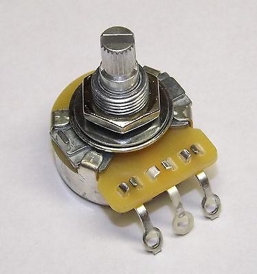CTS 500K Split Shaft Audio Pot Potentiometer Full Size NEW 3/8