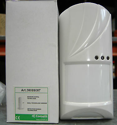 COMELIT 30088007 Detector sensor dual technology 39 5/12ft infrared microwave