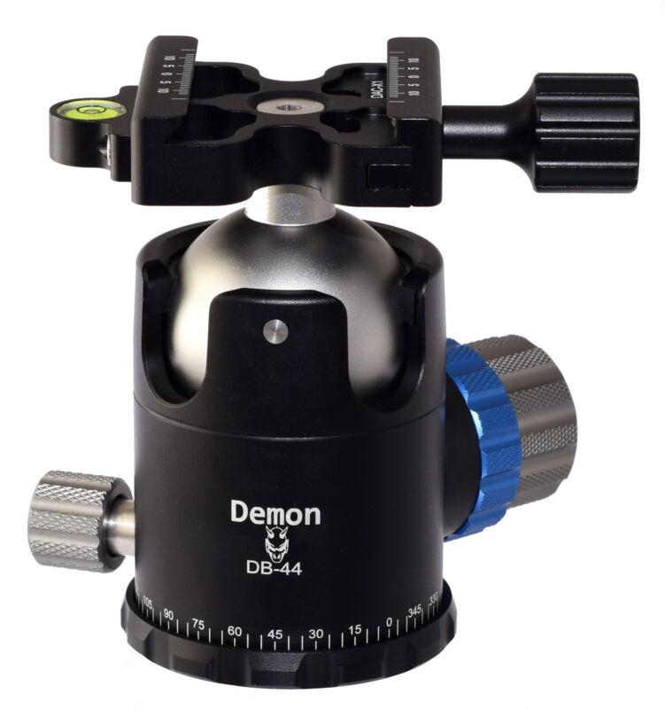 Demon DB-44 44mm Ball Head Arca / RRS Compatible w  Pan Lock for Tripod Desmond