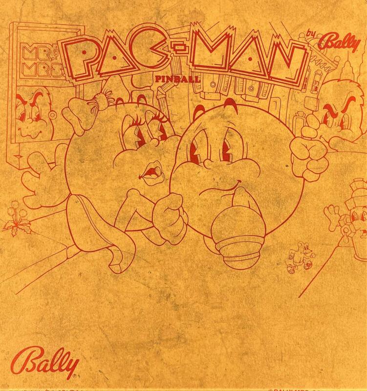 Bally Mr & Mrs Pac Man Pinball Manual Schematics BONUS Electronic Repair 560-3