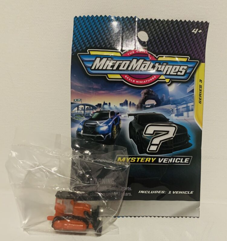 Micro Machines 2020 2021 Mystery Vehicle Blind Bags Series 3 TRACTOR  #0160
