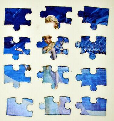 Disney Frozen puzzle 4 pack, 12 pieces each