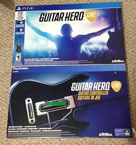 GUITAR HERO LIVE WITH TWO GUITARS