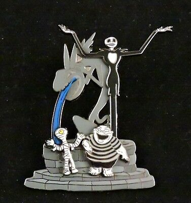 Disney DLR Halloweentown Collection 2005 Jack Skellington Pin (GWP) NBC LE 1500