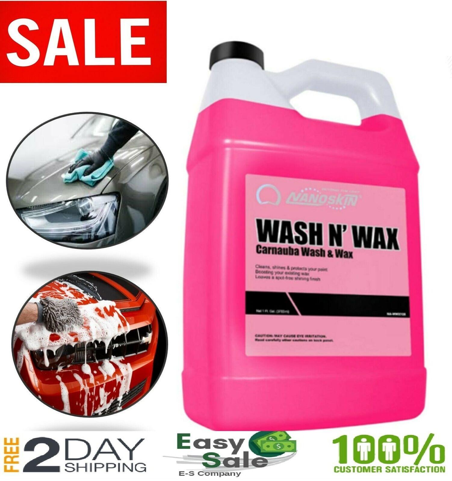 Car Wash Shampoo Shine Wax Jet Pressure Gun Soap Snow Foam C