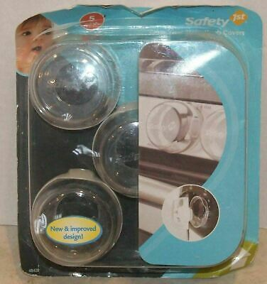 NEW Safety 1st Clear View Stove Knob Covers Set of 5 Covers