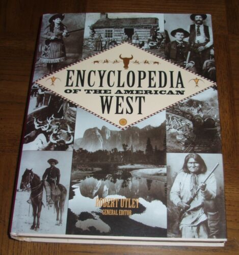 ENCYCLOPEDIA OF THE AMERICAN WEST - 1997 HARDCOVER BOOK & DUST COVER
