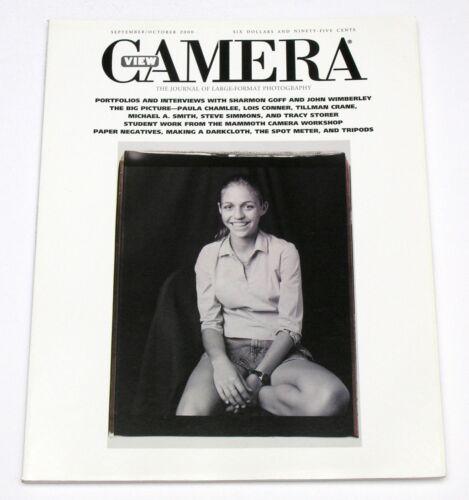 VIEW CAMERA MAGAZINE - SEP / OCT 2000 * SHARMON GOFF LOIS CONNER TILLMAN CRANE