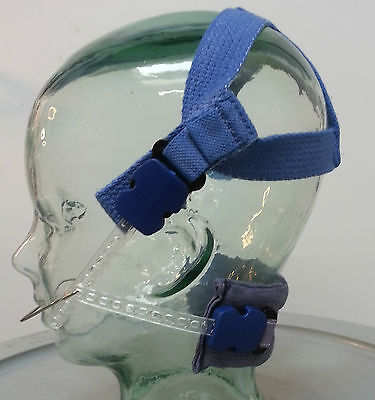 Orthodontic Headgear Prop/costume/rig - Blue Combi Pull Kit Set-up Unisex