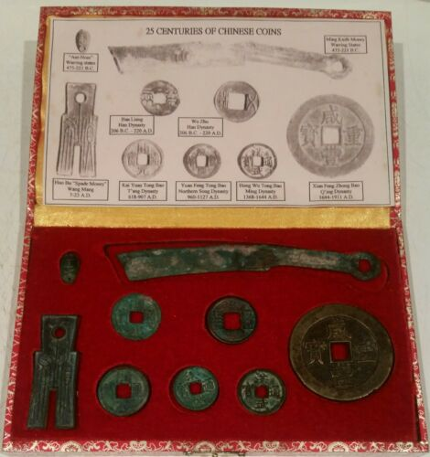 25 CENTURIES OF CHINESE COIN COLLECTION