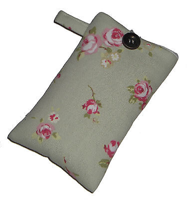 Shabby Chic ROSE Mobile Smart Phone Ipod Iphone Case Sock Sleeve Bag PADDED Gift Ipod Case Smartphone