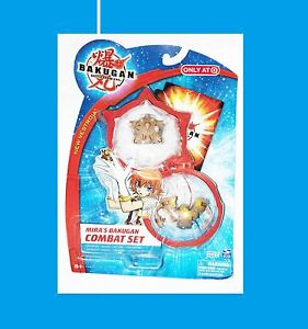 Bakugan Target Exclusives MIRA'S COMBAT SET SUBTERRA Brown ~ Wilda Baliton Trap