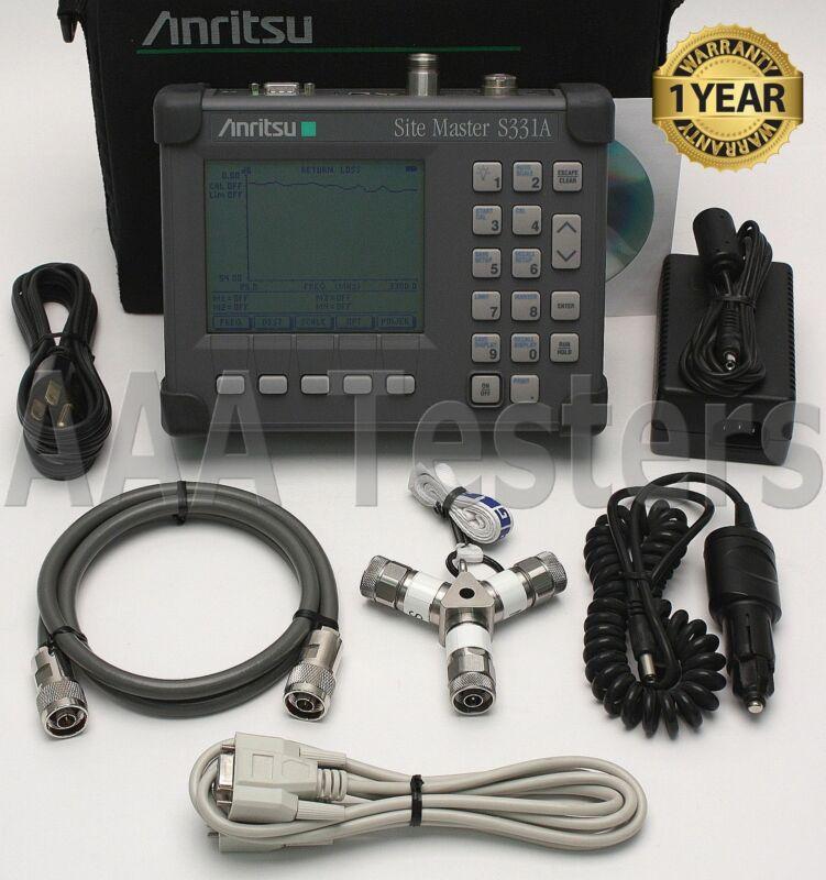 Anritsu Site Master S331A Cable & Antenna Analyzer SiteMaster S331