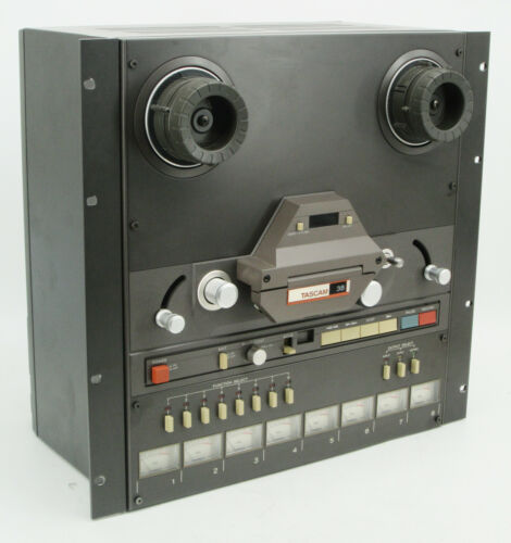 Tascam Model 38 8-Channel Reel to Reel Recorder Reproducer 8 Track Tape Deck #2
