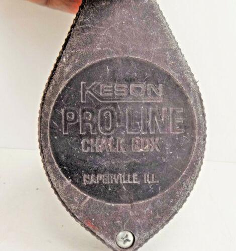 Keson Chalk Box Used (Vintage) HAND TOOLS INDUSTRIAL CHALK LINE SUPPLIES