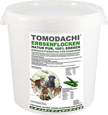 100% Natürliche Stoffe (Erbsenflocken BARF Zusatz Hund, 100% natürlich, Stoffwechsel, Verdauung,Diät 2kg)