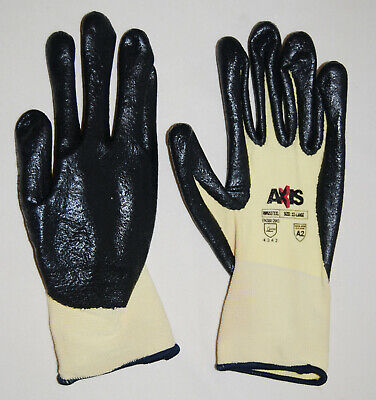 Radians Axis Yellow Level A2 Cut Protection Work Gloves Rwg537 Sz Xxl
