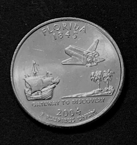 2004 D MINT Florida State Quarter :: Uncirculated :: FL :: Shipping Discount