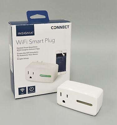 Insignia NS-SP1X7 WiFi Smart Plug White  - $5.99