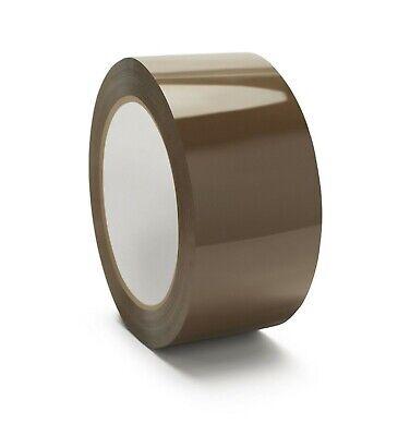 1-6-12-18-24-36-72 Rolls Browntan Packing Packaging Sealing Tape 2x110 Yards
