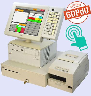 Catering - Cash Register System Also F Dealer Wincor Touchscreen Printer Drawer