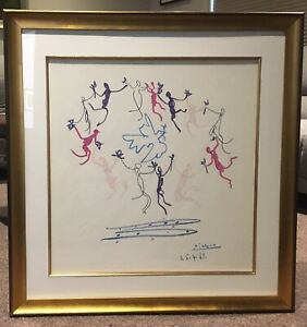 The Dance of Youth By Pablo Picasso, Framed Print Bentleigh East Glen Eira Area Preview