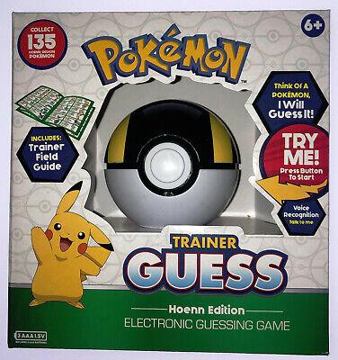Pokemon 119109 Trainer Guess Hoenn Edition - New Damaged Box na sprzedaż  Wysyłka do Poland