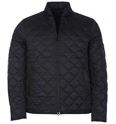 Barbour International Steve McQueen Collection Men's Black Gear Quilted Jacket