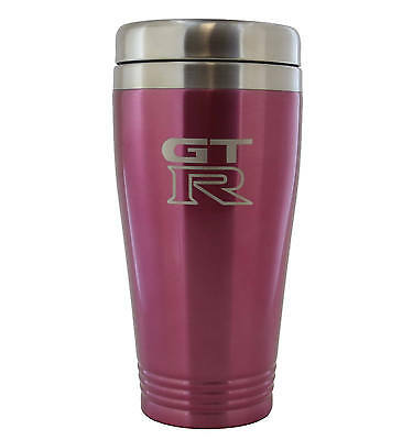 Nissan GT-R Pink Stainless Travel Mug Nissan Travel Mug
