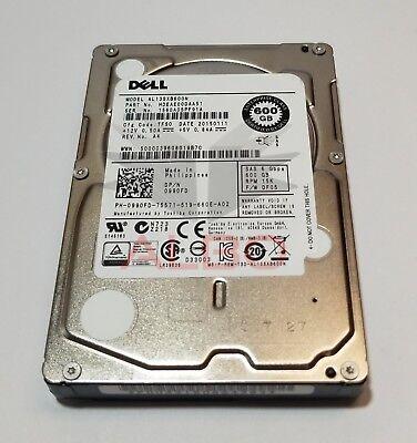 """DELL 0990FD 600GB SAS HD 2.5"""" 6Gbps 15K RPM MODEL: ST600MP0005 990FD"""