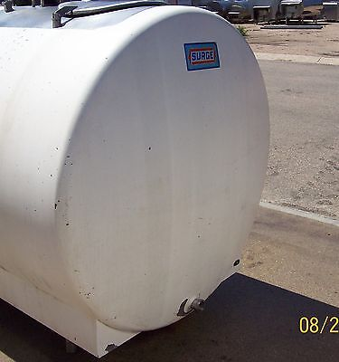 600 Gallon Surge With Agitation Stainless Bulk Milk Farm Tank 852016