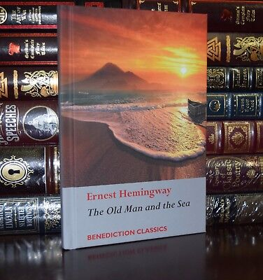 The Old Man and the Sea by Ernest Hemingway New Collectible Hardcover Classics