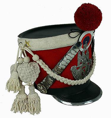 Tschako Pickelhaube Shako Frankreich Napoleon  Waterloo Larp Ehrengarde sca L99