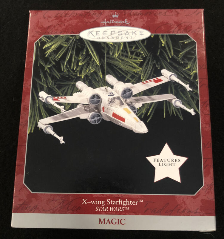 Star Wars X-Wing Starfighter Hallmark Keepsake Ornament 1998