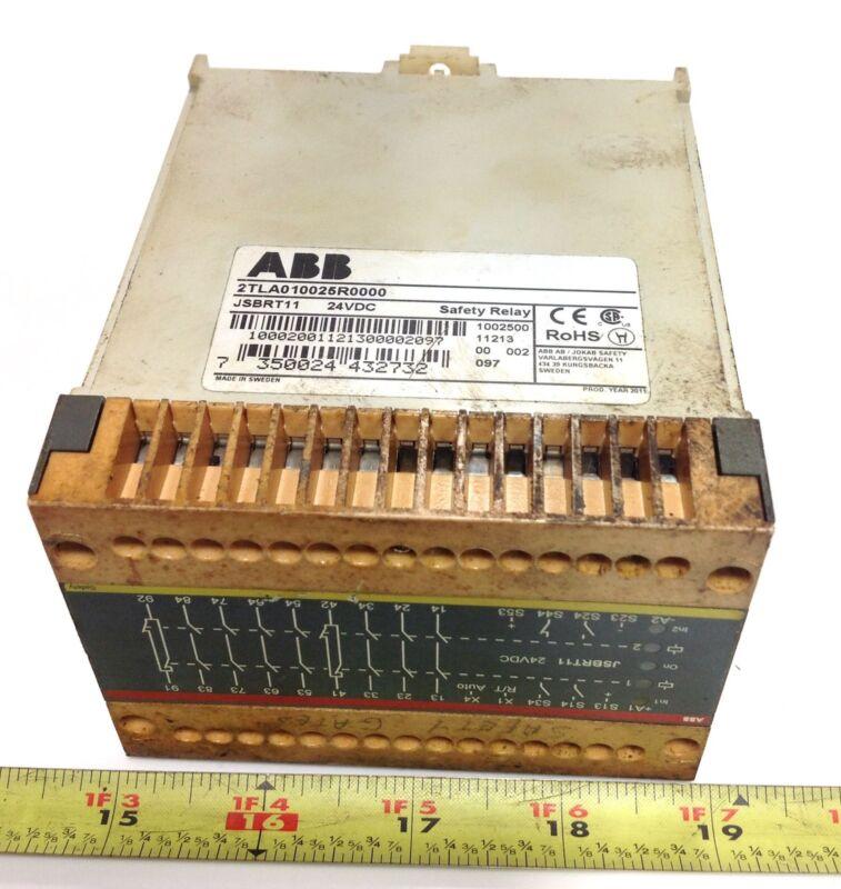 ABB 24VDC SAFETY RELAY 2TLA010025R0000 / JSBRT11