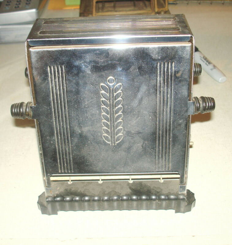 Antique Vintage ELECTRIC TOASTER - WESTINGHOUSE TT Flip Side Mansfield OH