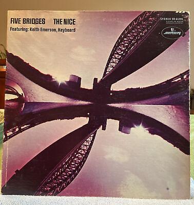 The Nice~ Five Bridges vinyl LP 1969 Clean Copy!FREE SHIPPING