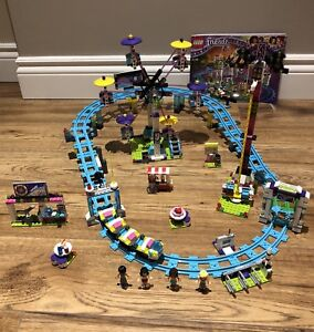 LEGO FRIENDS set 41130 Amusement Park Roller Coaster $75