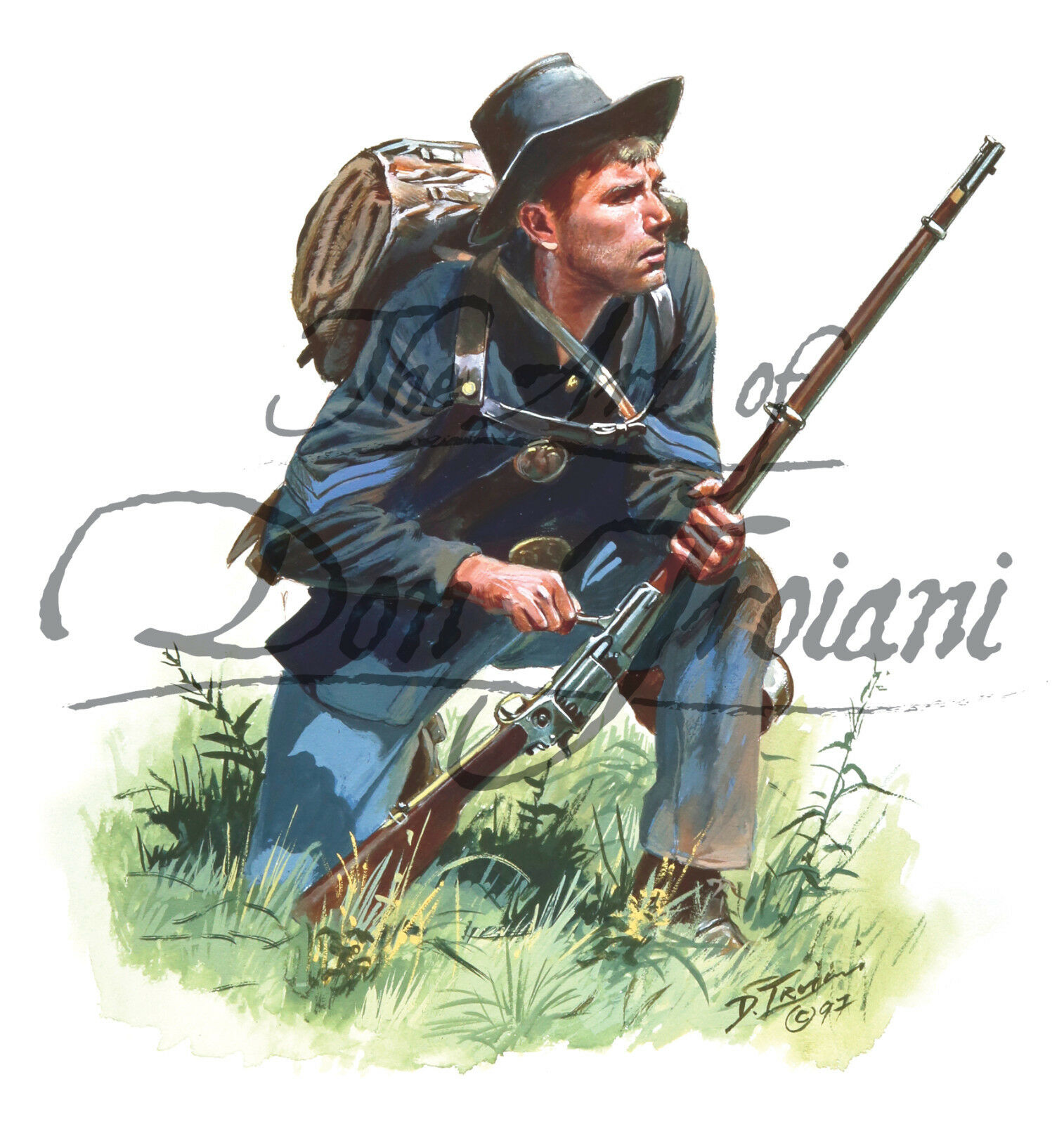 "/""Army of the Cumberland Pioneer 1864 Don Troiani American Civil War/"""